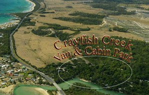 Crayfish Creek Van and Cabin Park and Spa House