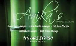 Anikas Massage Therapy - eAccommodation