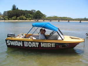 Swan Boat Hire - eAccommodation
