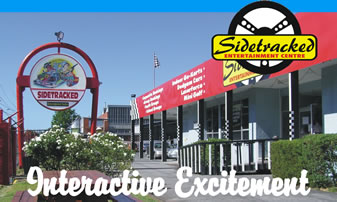 Sidetracked Entertainment Centre - eAccommodation