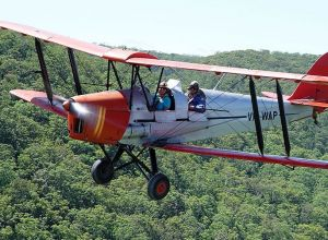 Tigermoth Joy Rides - eAccommodation