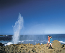 The Blowholes Carnarvon - eAccommodation
