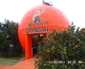 Gayndahs Big Orange - eAccommodation