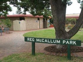 Reg McCallum Park - eAccommodation
