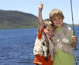 Fishing on Keswick Island