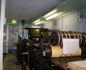 Queanbeyan Printing Museum - eAccommodation