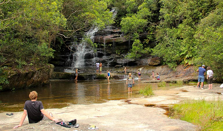 Somersby Falls picnic area - eAccommodation