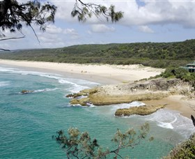 Main Beach North Stradbroke Island