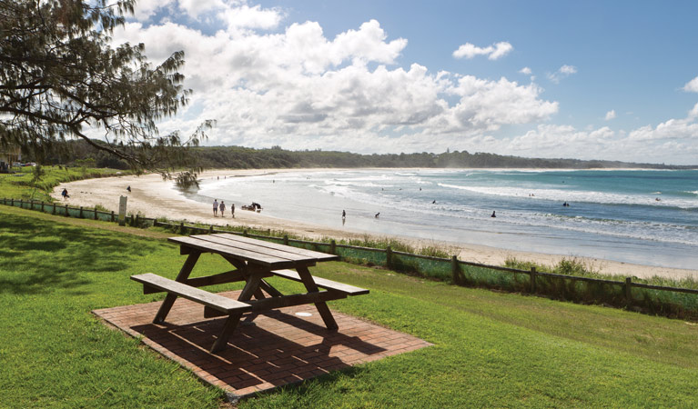 Woolgoolga Beach and Headland - eAccommodation