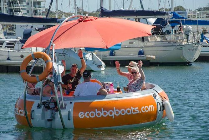 Self-Drive BBQ Boat Hire Mandurah - Group of 7 - 10 people - eAccommodation
