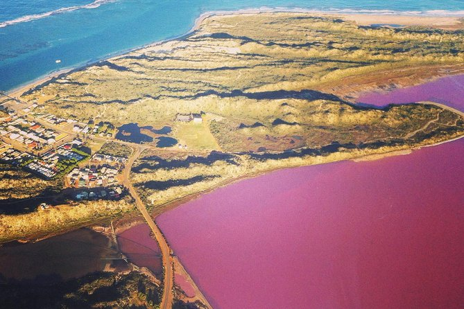 70-minute Pink Lake and Port Gregory Scenic Flight From Geraldton - eAccommodation