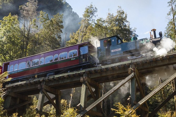 West Coast Wilderness Railway Queenstown Explorer from Strahan - eAccommodation
