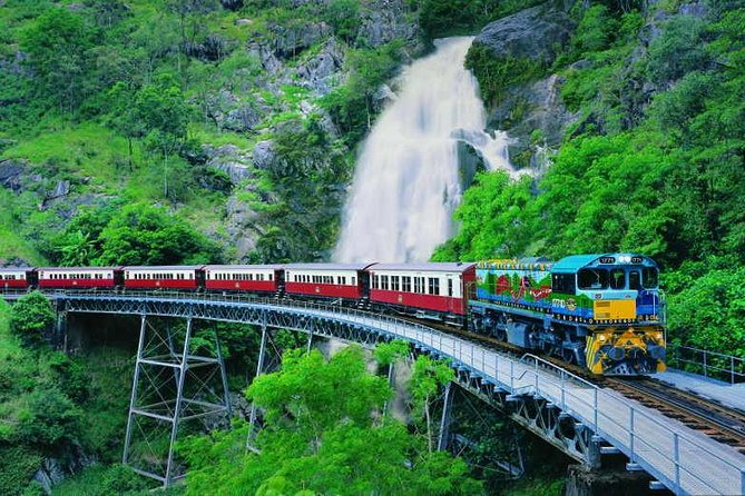 Full-Day Tour with Kuranda Scenic Railway Skyrail Rainforest Cableway and Hartley's Crocodile Adventures from Cairns - eAccommodation