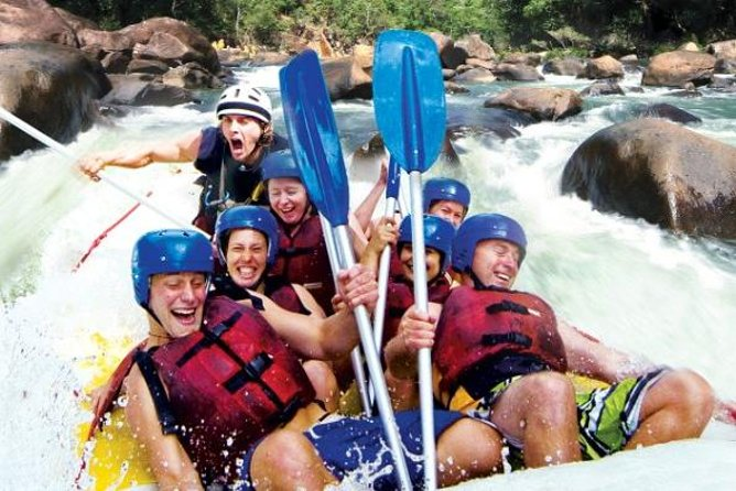 Tully River Full-Day White Water Rafting from Cairns including Lunch - eAccommodation