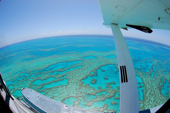 Best of the Whitsundays Seaplane Tour Including Whitehaven Beach Landing