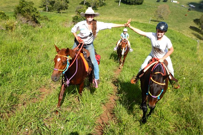 Country Day Ride from Mt Goomboorian with Rainbow Beach Horse Rides - eAccommodation