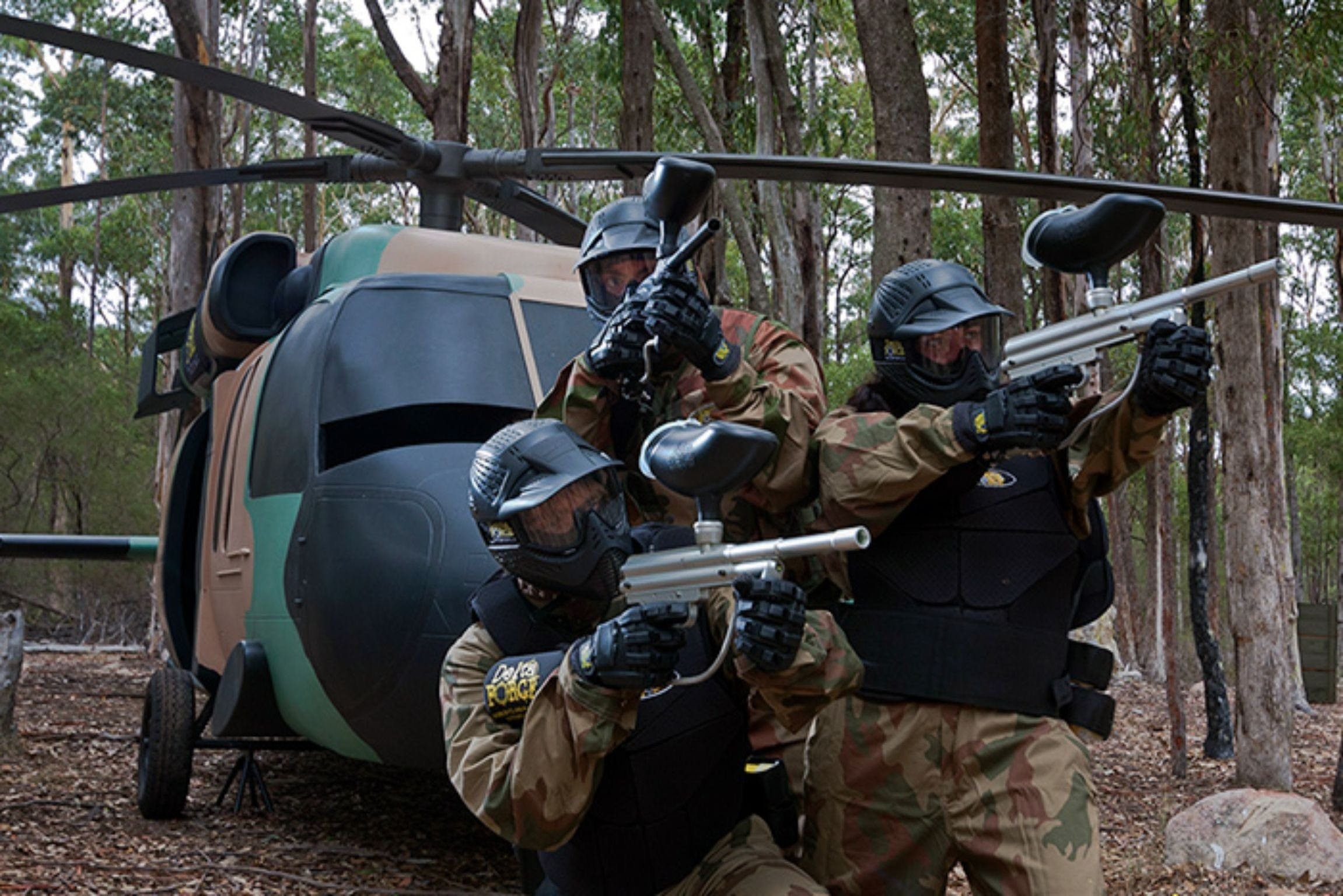 Delta Force Paintball Appin - eAccommodation