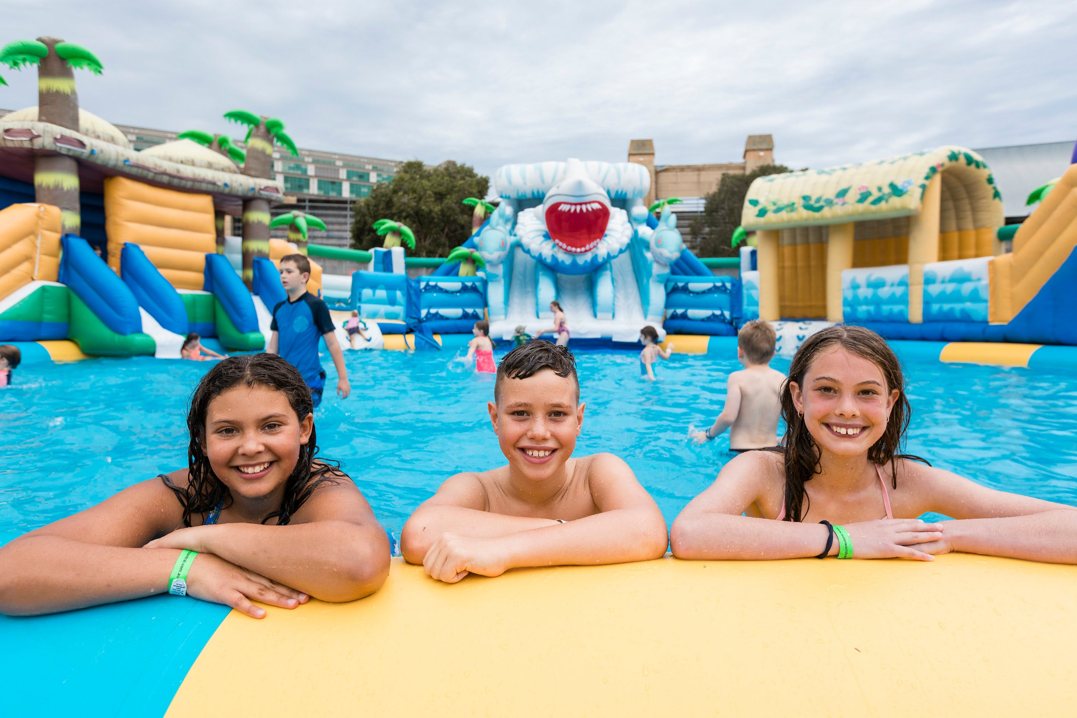 Waterworld Central - Mobile Inflatable Waterpark - eAccommodation