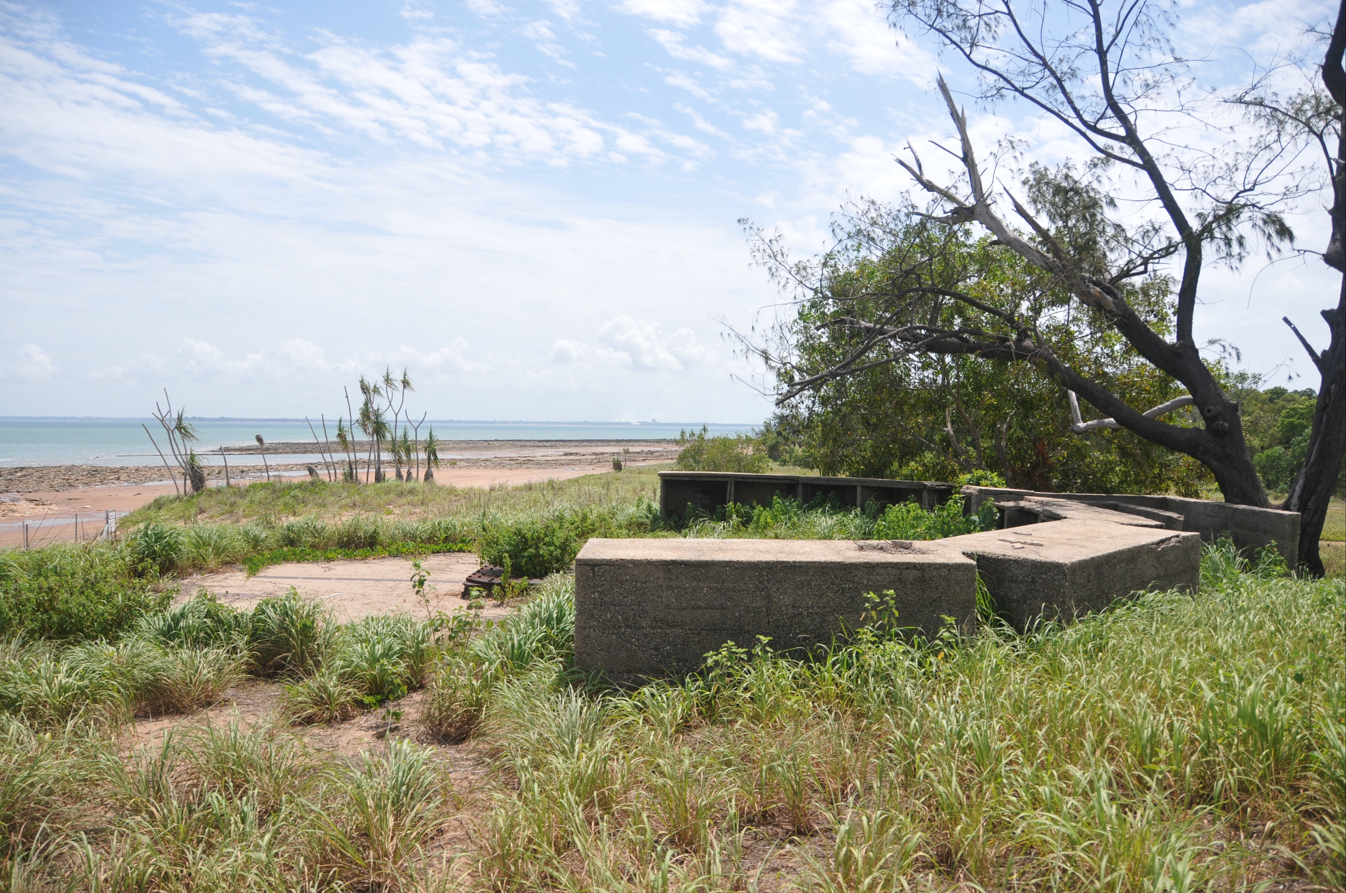 WWII Gun Emplacement Wagait Beach - eAccommodation