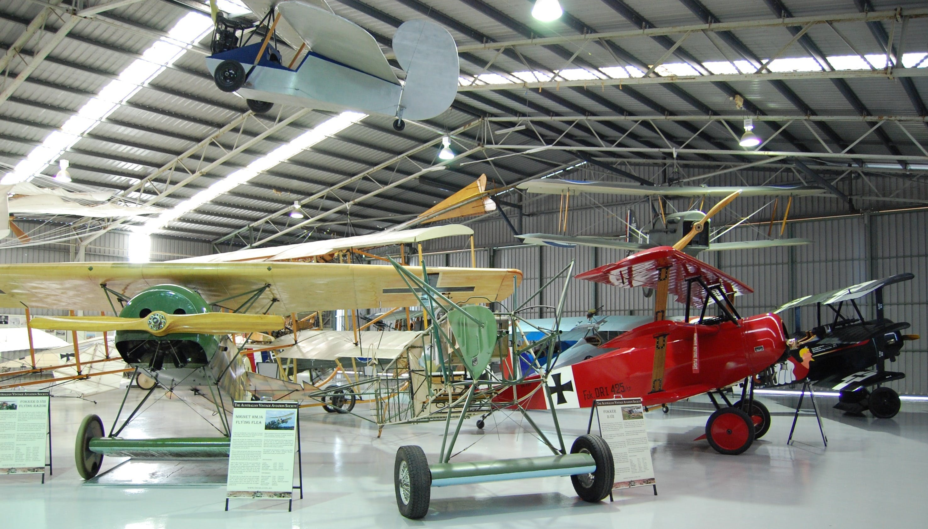 The Australian Vintage Aviation Society Museum - eAccommodation