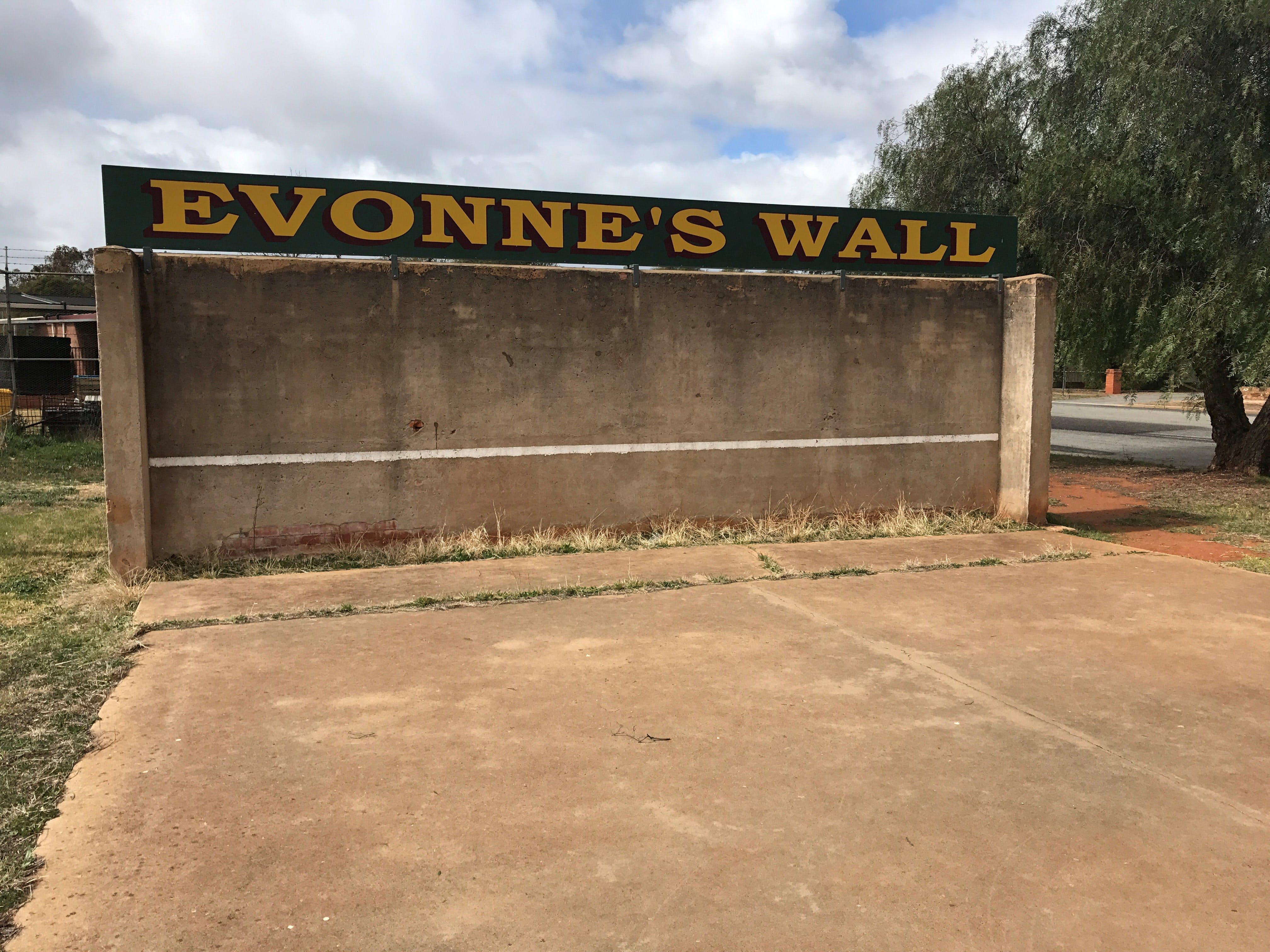 Evonne Goolagong-Cawley Wall - eAccommodation