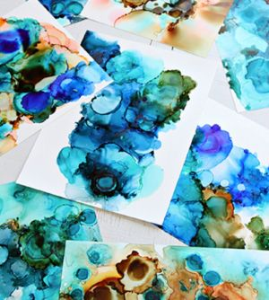 Alcohol Ink Art Class - eAccommodation