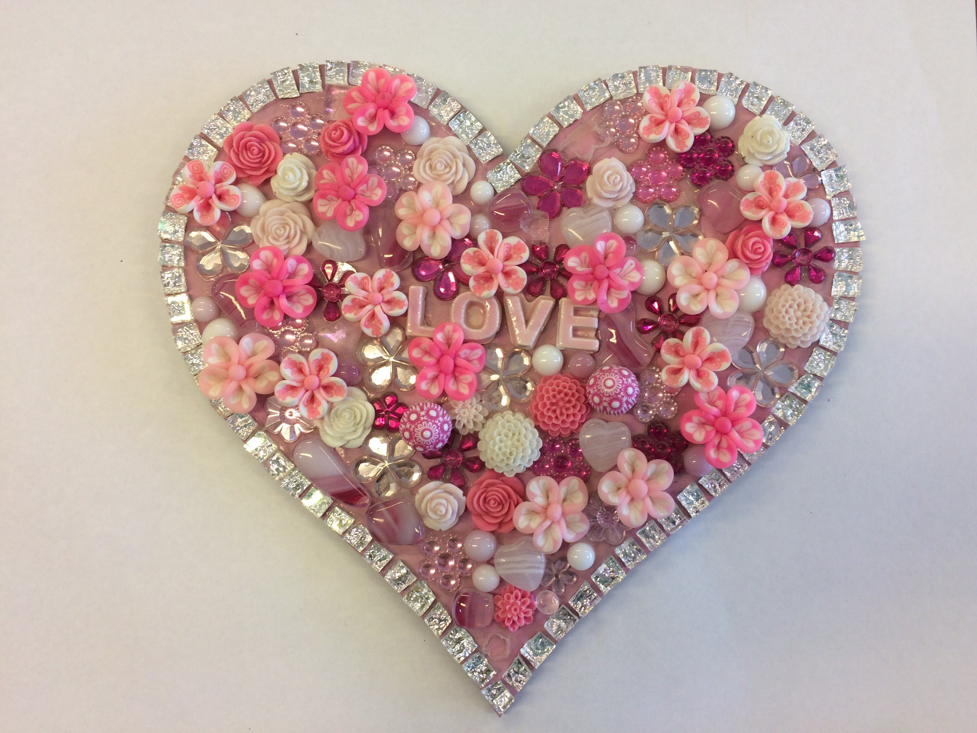Flowers and Bling Mosaic Class for Kids - eAccommodation