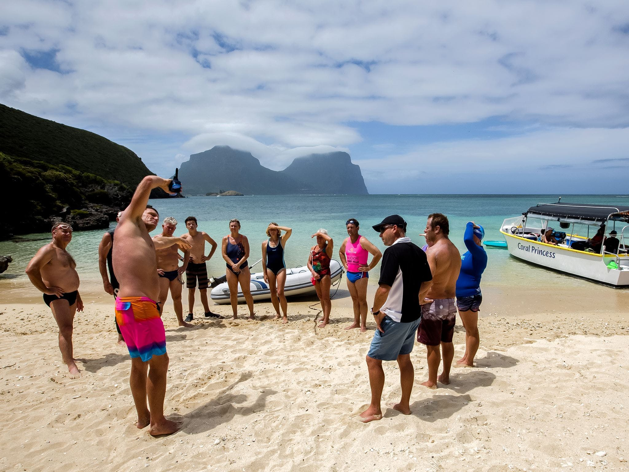 Ocean Swim Week with Trevor Hendy Pinetrees Lord Howe Island - eAccommodation