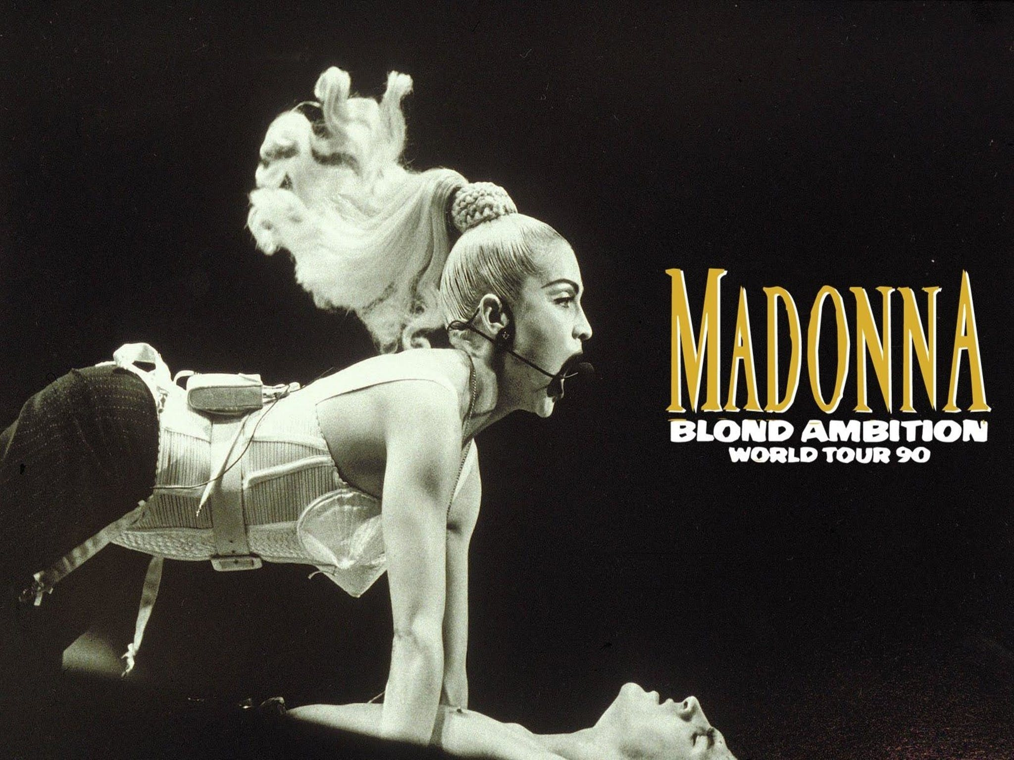 Madonna Blond Ambition Tour - eAccommodation