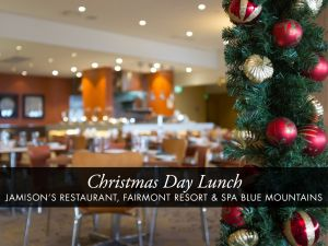 Christmas Day Buffet Lunch at Jamison's Restaurant - eAccommodation