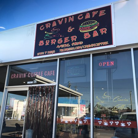 Cravin' Cafe  Burger Bar - eAccommodation