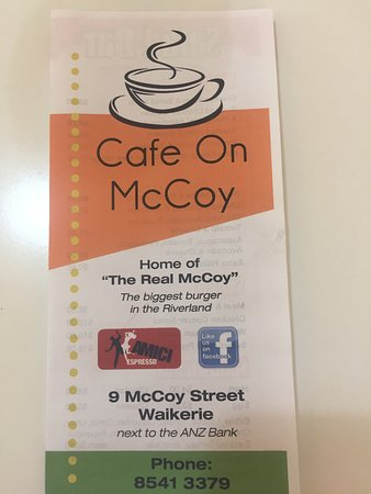 Cafe on McCoy - eAccommodation