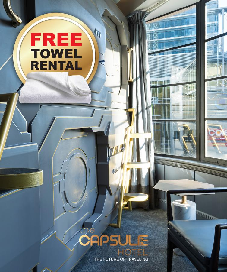 The Capsule Hotel - eAccommodation