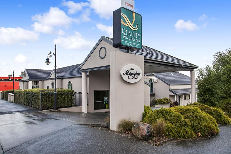 Quality Inn  Suites The Menzies - eAccommodation